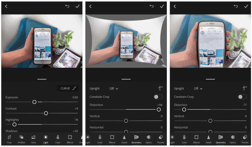 how to take professional photos with phone